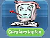 Curatare laptop la domiciliu